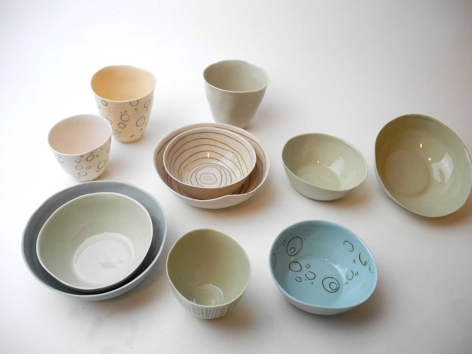 All Unique And Non Repeatable Pastel Colors From Our Wabi