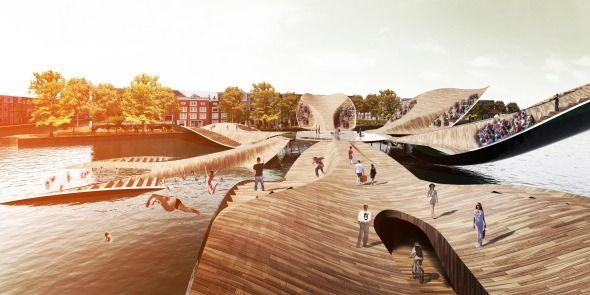 Puente peatonal versátil - Noticias de Arquitectura - Buscador de Arquitectura