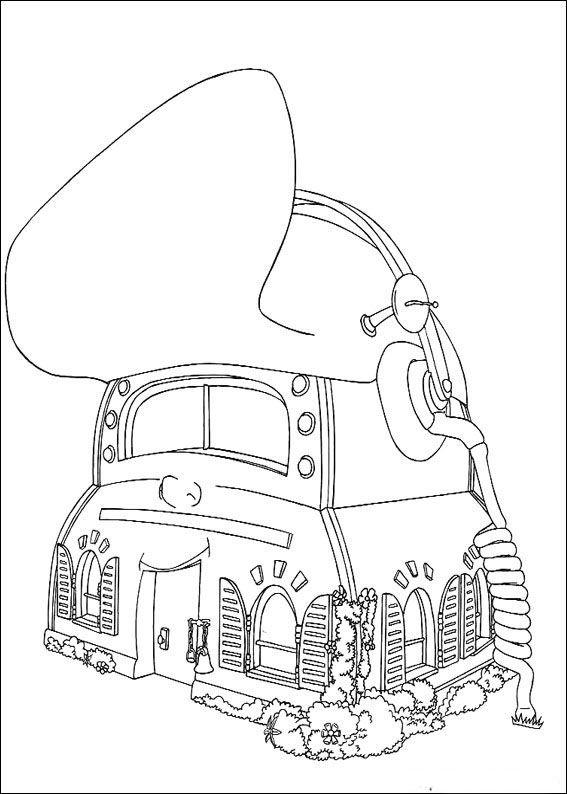 Desenhos para pintar Adiboo 38