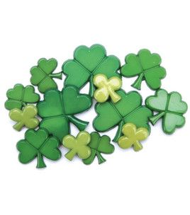 Favorite Findings Buttons- St. Patrick's Day 10/pk & craft & packs of buttons at Joann.com $2.29