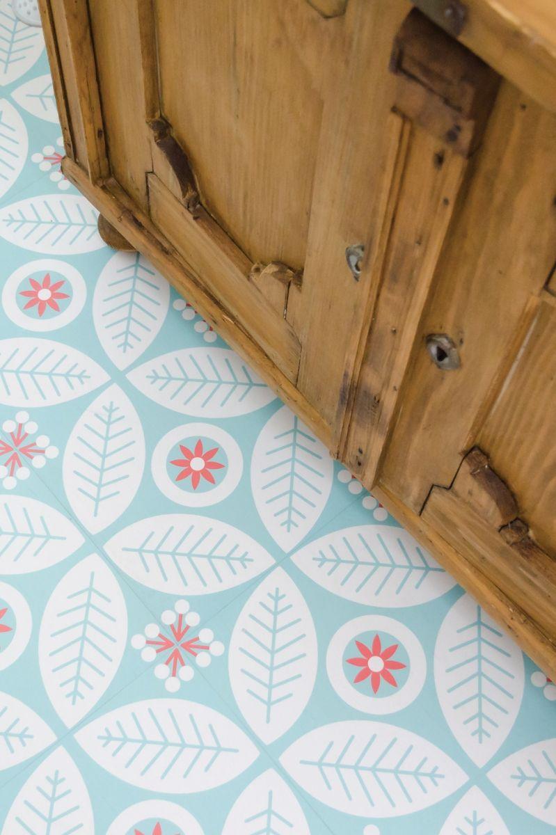 Pattern & Panache Floor decal, Tile floor, Flooring