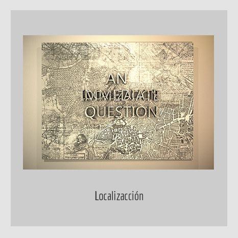LOCALIZACION.  YENY CASANUEVA Y ALEJANDRO GONZÁLEZ. PROYECTO PROCESUAL ART.