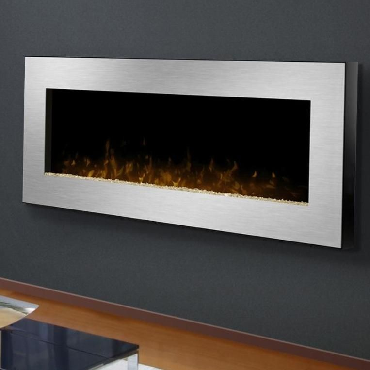 gas wall mount fireplaces   Dimplex Celebrity 49-Inch Wall Mount Electric  Fireplace - Stainless - Gas Wall Mount Fireplaces Dimplex Celebrity 49-Inch Wall Mount