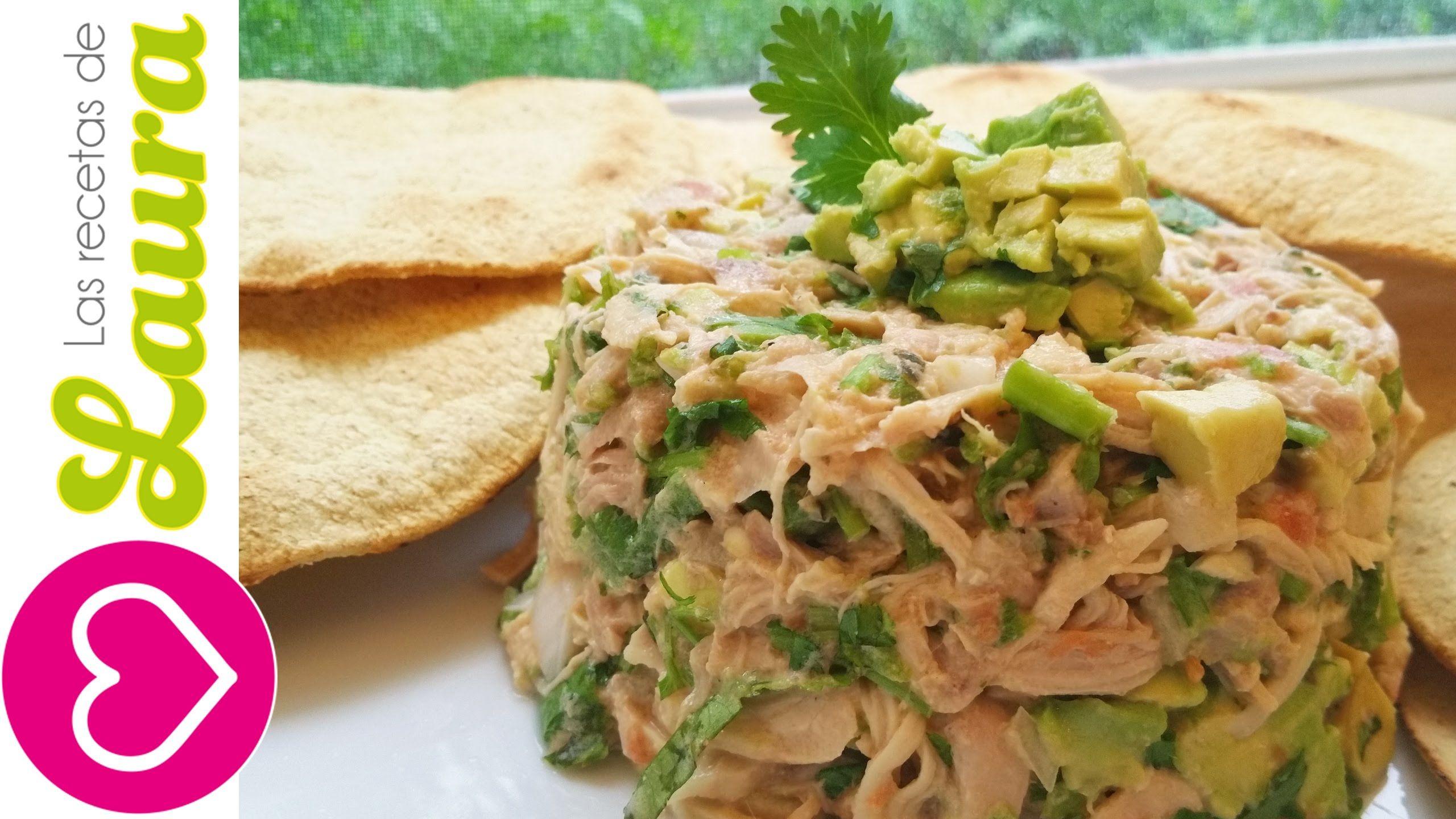 Ensalada de pollo al cilantro comida saludable cocina for Comidas faciles y saludables