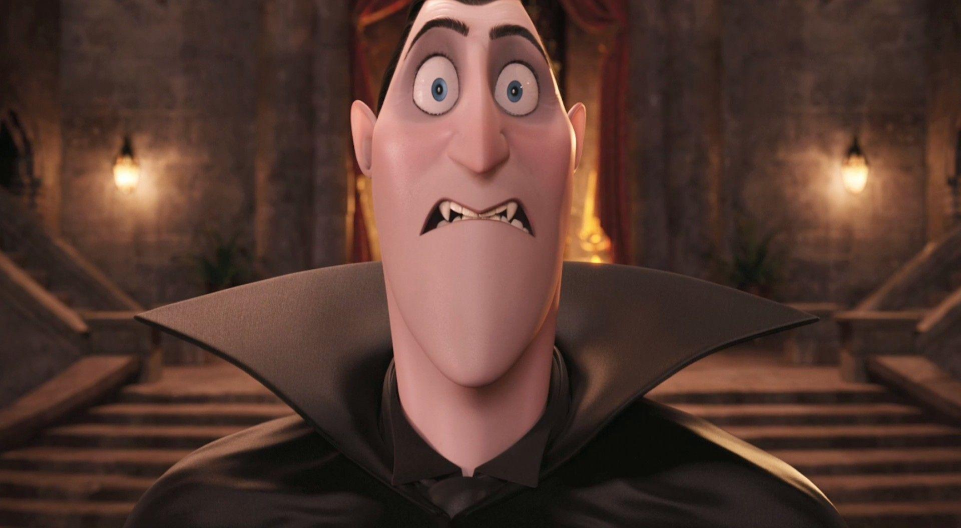 Result Hotel Transylvania Dracula Angry