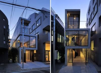 florian busch architects: house in takadanobaba - designboom | architecture & design magazine