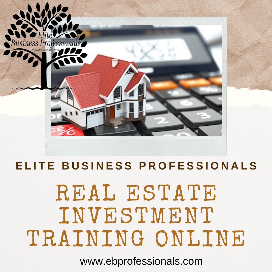 Ebprofessionals Provide Real Estate Investment Training Online