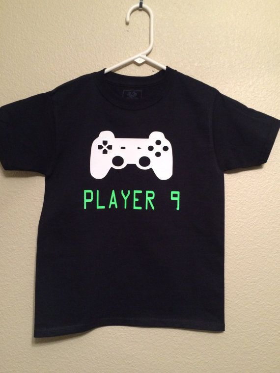Gamer Birthday Shirt Kids Video Game Happy Boy Girl By RKCreativeImpression