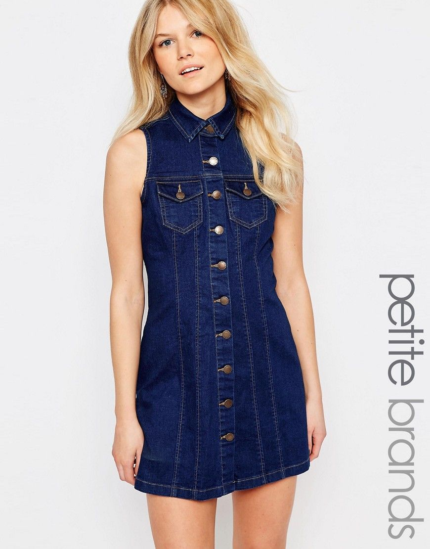 Many Kinds Of New Look Denim Button Through Dress Wide Range Of For Sale Fast Delivery Cheap Sale Official Site fkDmHms