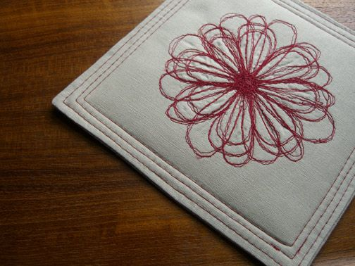 How To Free Motion Embroidery From The Long Thread Sewing Free