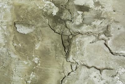 How To Fix A Chipped Garage Floor Before Epoxying Concrete Stained Floors Concrete Flooring