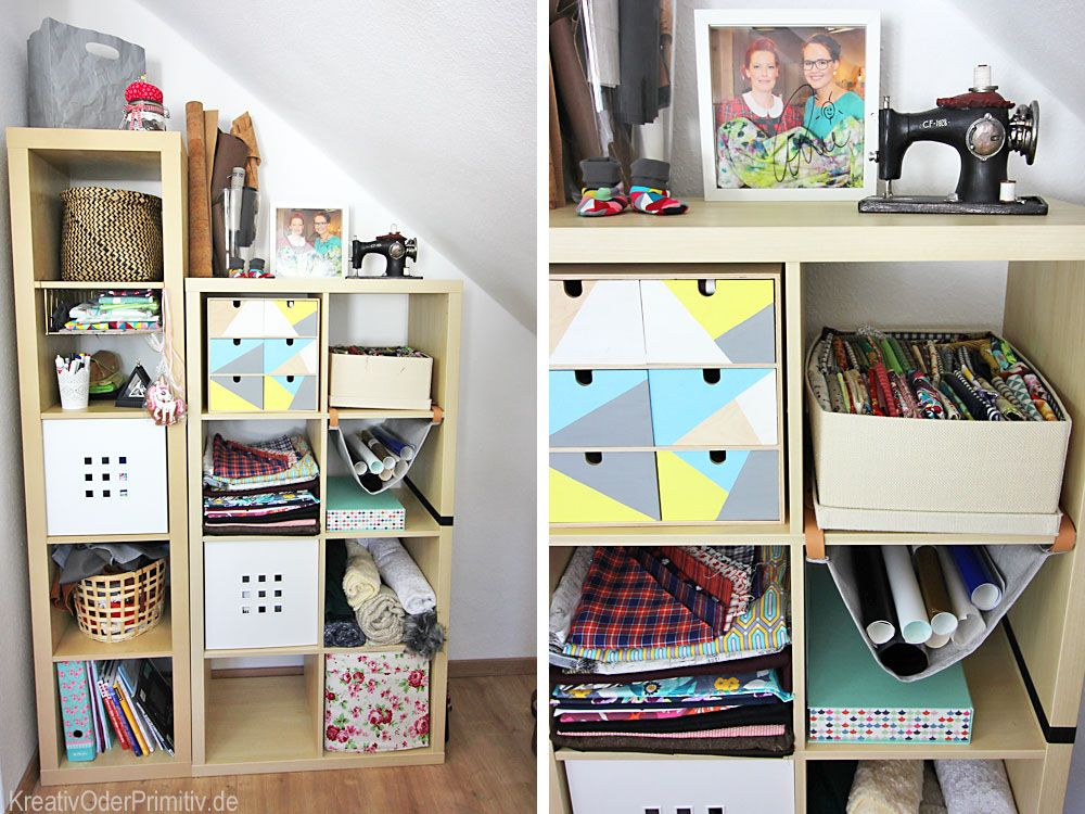 DIY, Workspace, Craftroom, Craft, Sewing, Nähzimmer, Nähecke, Ikea ...