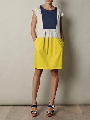 La robe jaune ou bleu