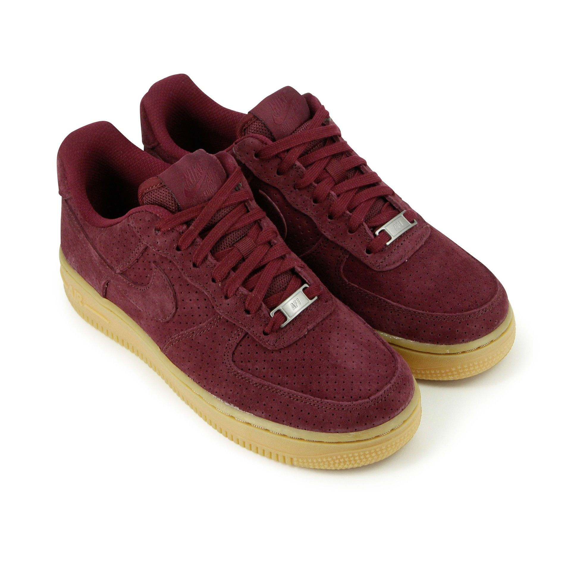 nike air force 1 femme rouge bordeaux