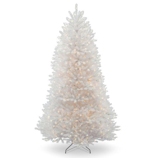 75 ft Pre-Lit White Dunhill® Fir Full Artificial Christmas Tree