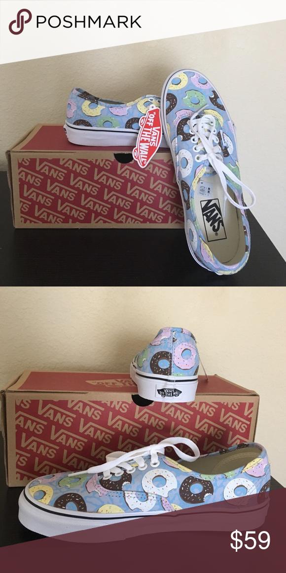 stil clasic calitate bună extrem de elegant Vans Donut Shoes NEW Authentic with box 8 New with box Vans Shoes ...