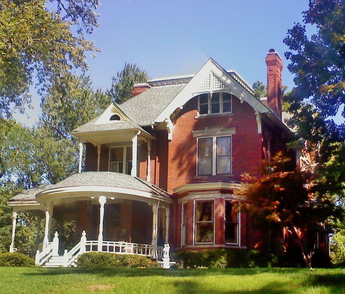 Great Old Homes Leavenworth Kansas Zeckford Com Zeckford Old Houses Architectural Features Victorian Homes