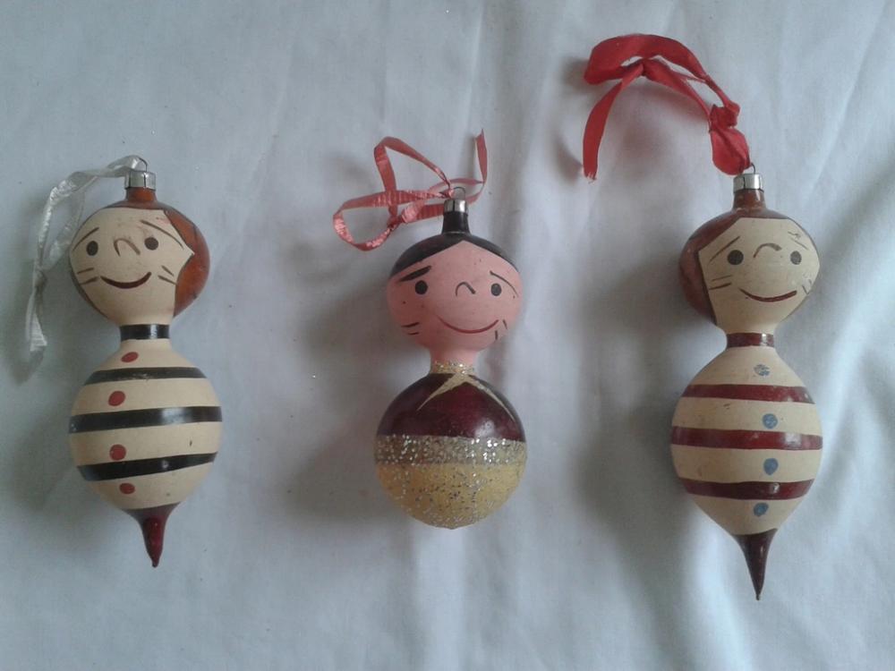 Stare Bombki Design Prl Jacek I Agatka Pszczolki 7687214088 Oficjalne Archiwum Allegro Christmas Ornaments Novelty Christmas Decor