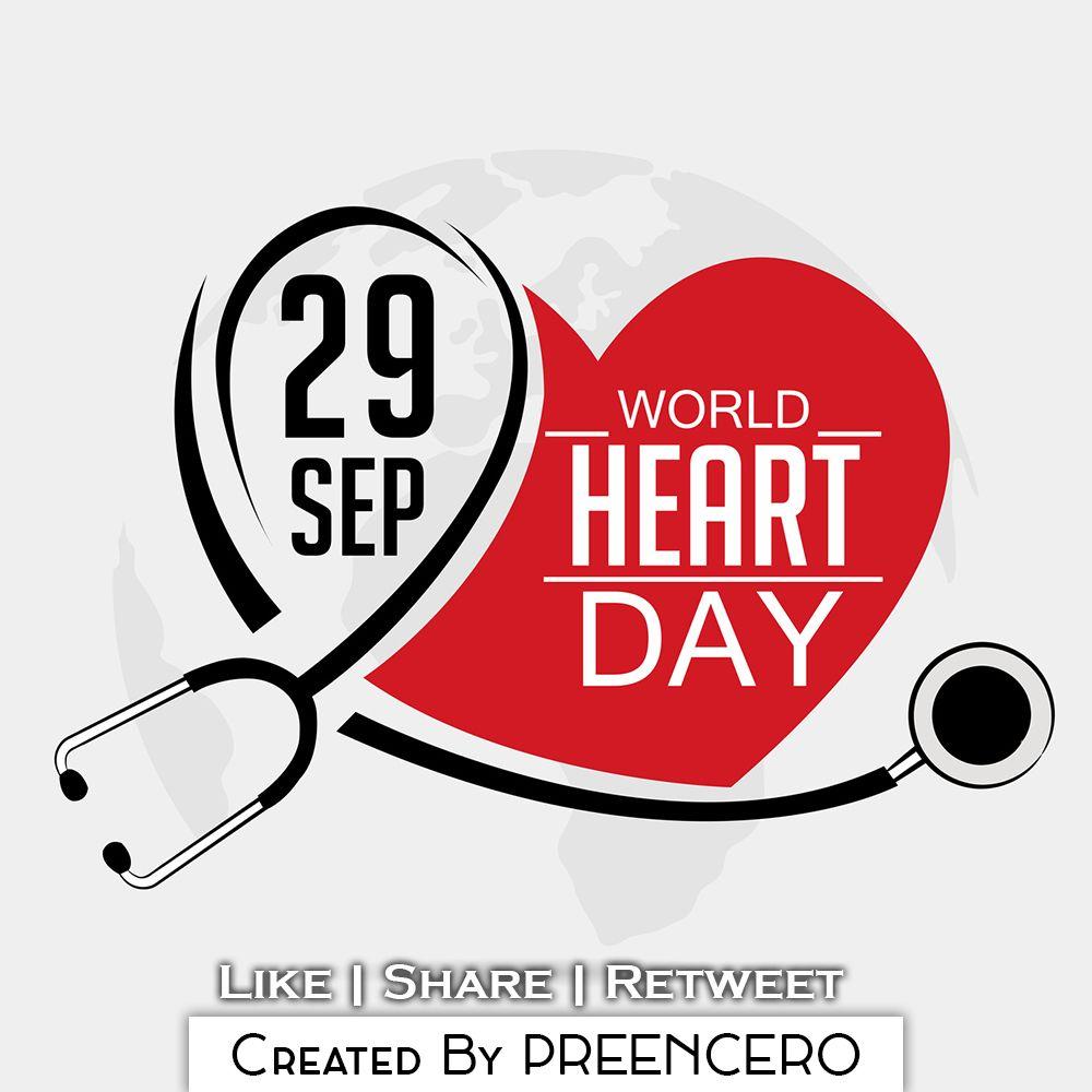 29th September World Heart Day By Preencero Preencero Day Heart Inspiration Design Development Illustrato World Heart Day Heart Day Improve Heart Health