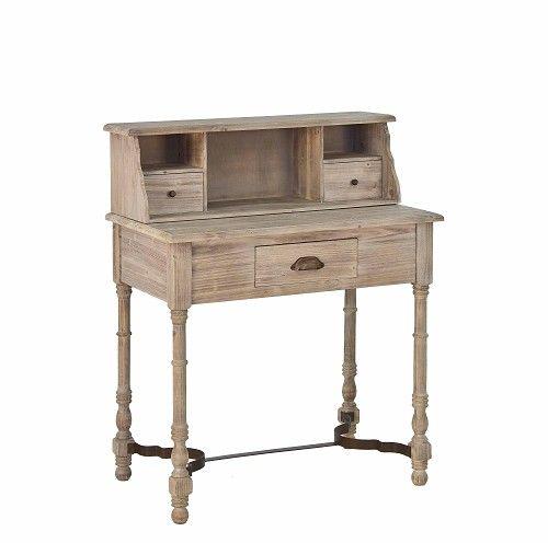 scrivania shabby chic scrittoio vintage decapato decapè vendita on ...
