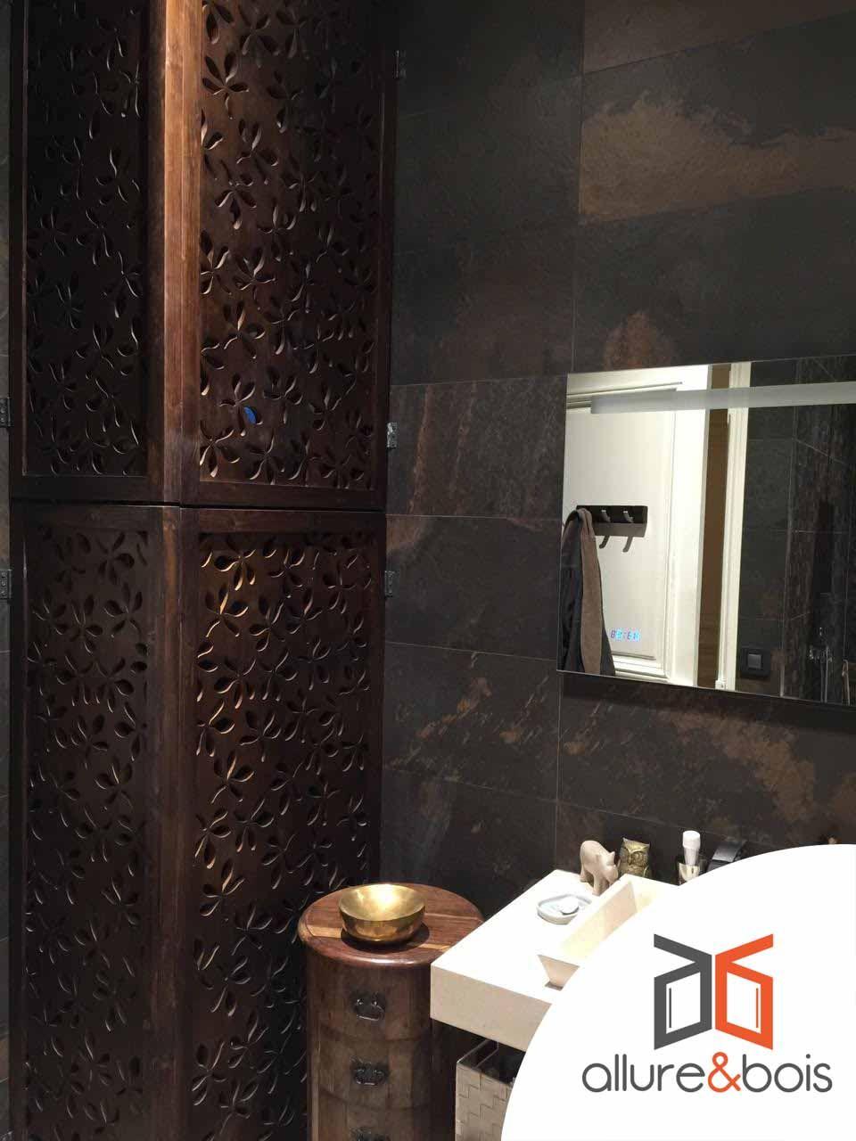 salle de bain design motif floral moucharabieh pinterest moucharabieh claustra et. Black Bedroom Furniture Sets. Home Design Ideas