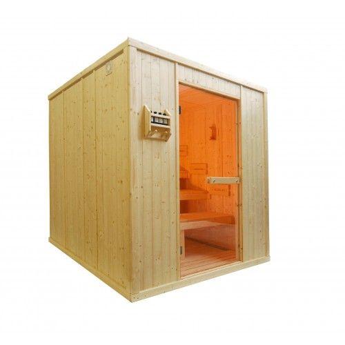 Cabina De Sauna Finlandesa Para Uso Intensivo A Destinacion De Los - Cabina-sauna