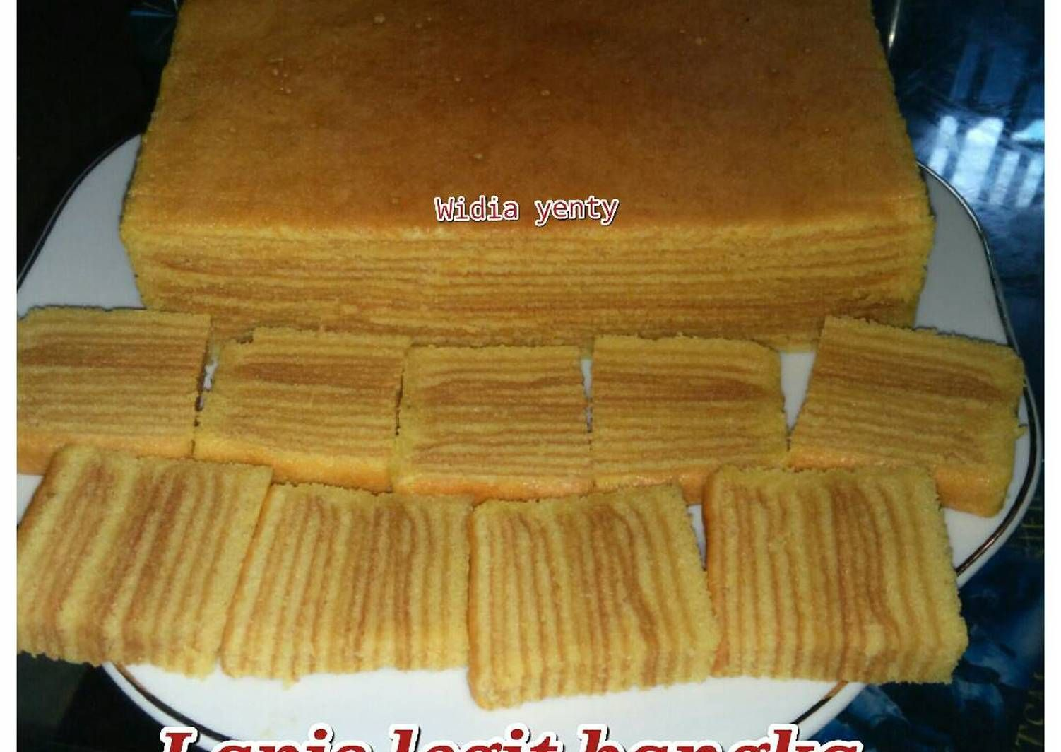 Resep Lapis Legit Bangka Thaipan Oleh Widia Yenty Resep Kue Lapis Kue Makanan