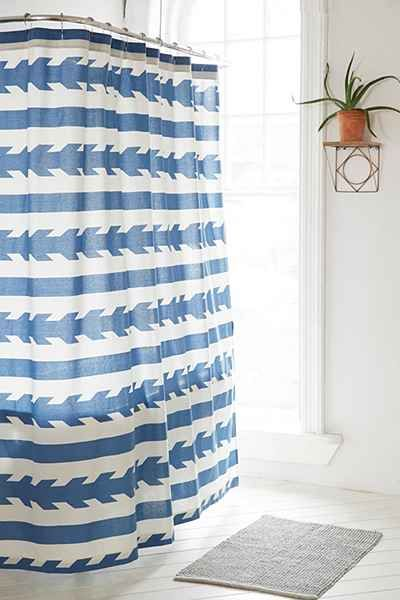 4040 Locust Washed Arrows Shower Curtain Arrow Shower Curtain