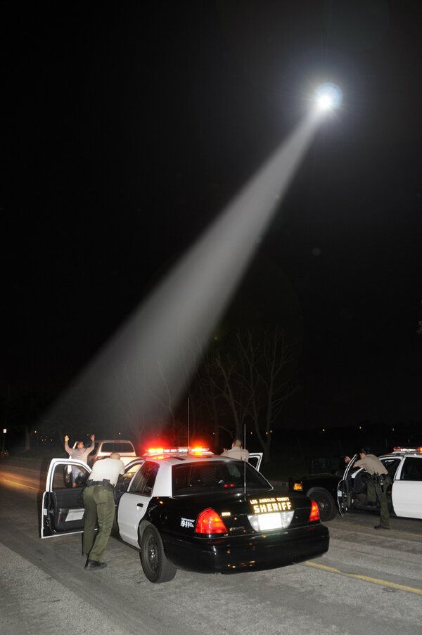 Felony Traffic Stop At Night Feb 16 2013 Photo Credit C