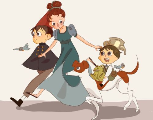 Image Result For Over The Garden Wall Beatrice And Wirt Over The Garden Wall Pinterest