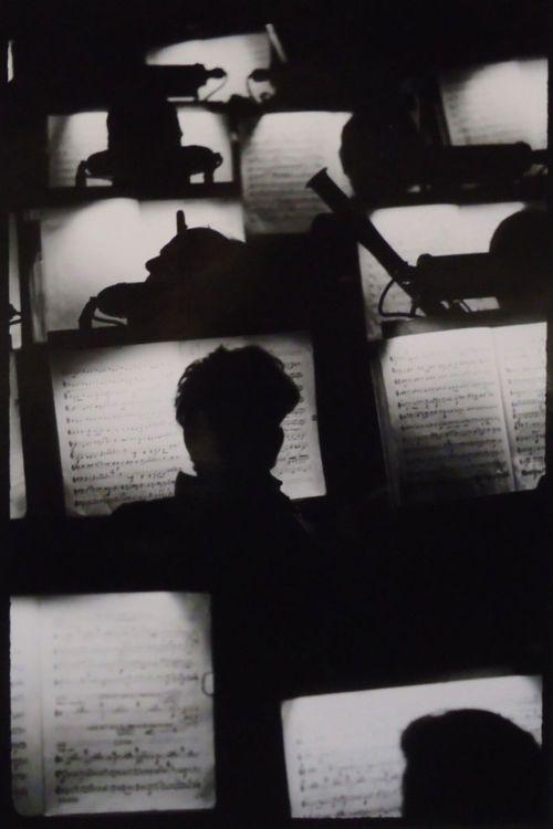 Orchestra Pit, San Francisco Opera House, 1950s byFred Lyon