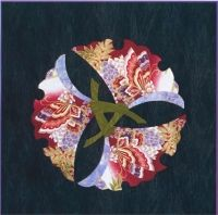 Three Ichos (Gingkos) Quilt Pattern GGA-113