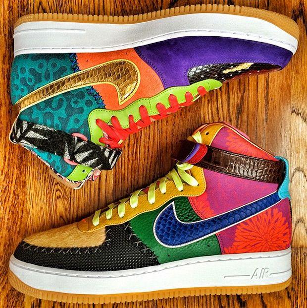 finest selection 31cf7 fc4a1 DJ Clark Kent × Nike Air Force 1 High