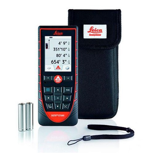 Leica Disto E7500 500 Ft Laser Distance Meter With