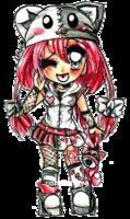 Manga/Anime Eyes and Hair. colored by *Lettelira on deviantART