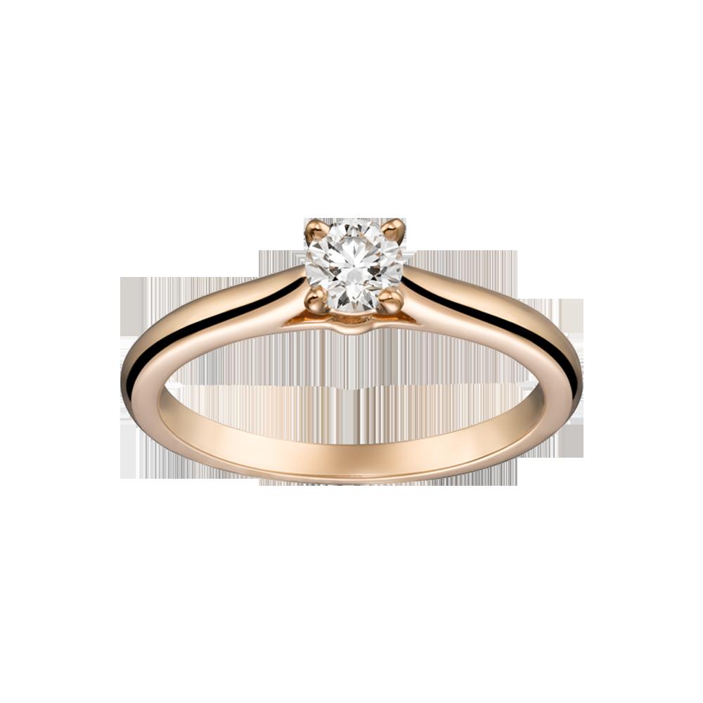 ec36dc25fa2 Solitário diamante Cartier