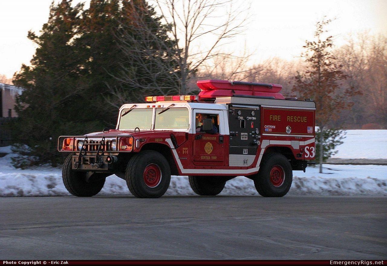 Hummer H1 Wildland Valparaiso Fire Department Emergency Apparatus Fire Truck Photo