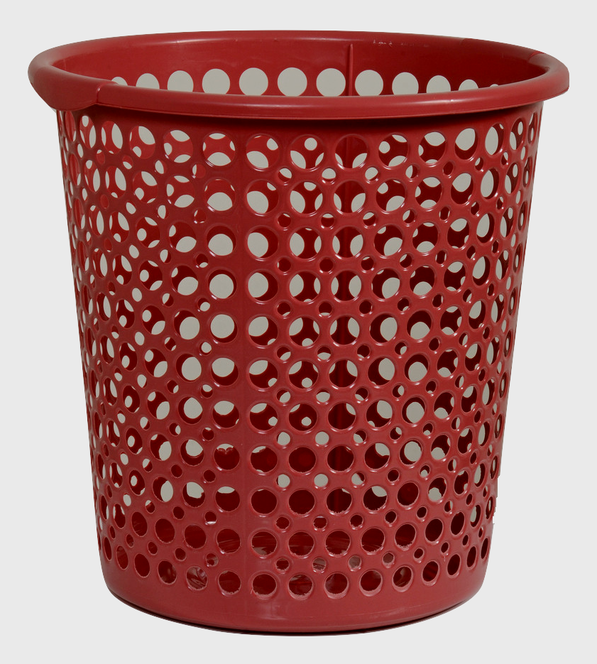 سلة ملابس دي لوكس Deluxe Clothes Basket Plastic Items Trash Can Small Trash Can