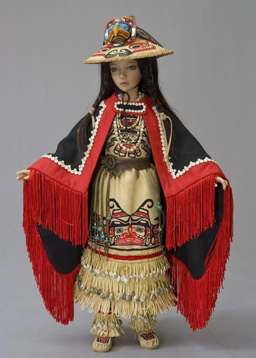 Northwest Coast Regalia This Outfit Was Inspired By Traditional Native Clothing And Artwork From The Pacific Northwest And Was Made Specifically T