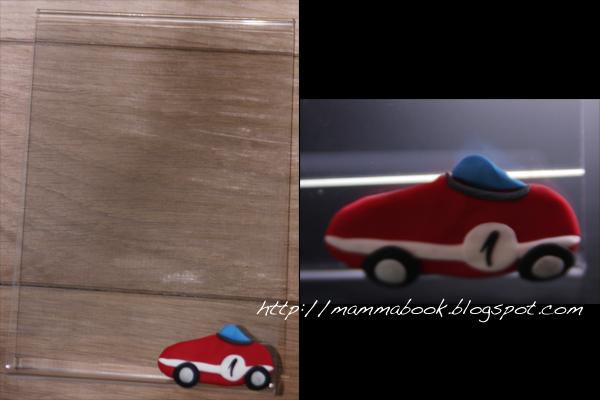 Polymer Clay Racing Car Frame