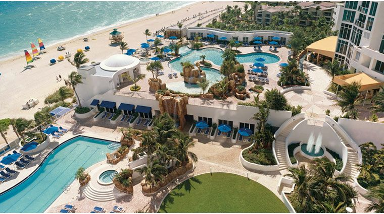 Trump International Beach Resort Sunny Isles Florida Fourstar Hotel Forbestravelguide Ftlauderdale Miami Pools