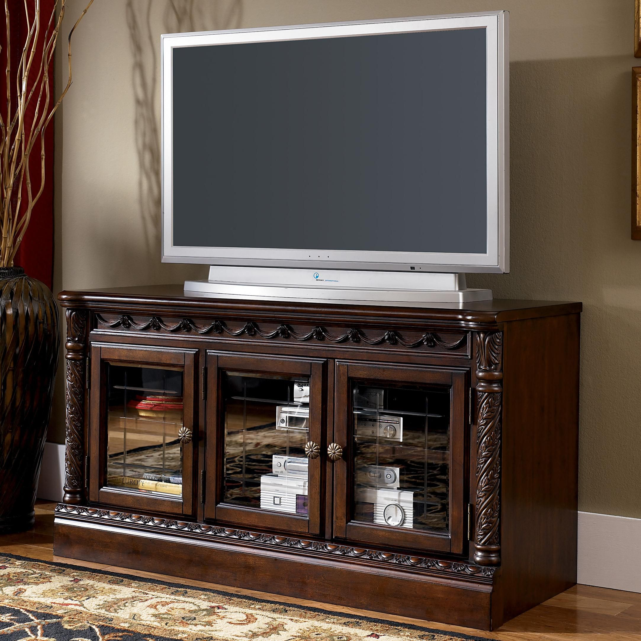 North Shore Living Room Set North Shore Traditional 51 Inch Medium Tv Stand By Millennium