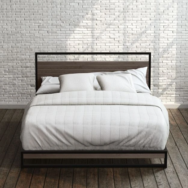 Suzanne Low Profile Platform Bed Frame Zinus in 2020