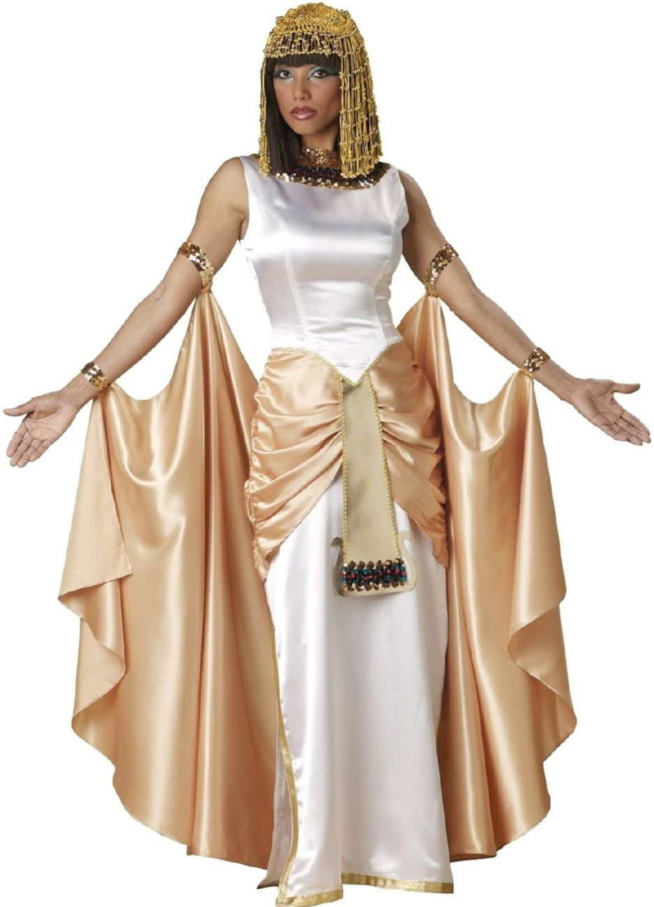 Cleopatra Ornate Traditional Cherry Formal Dining Room: Adult Cleopatra Costume