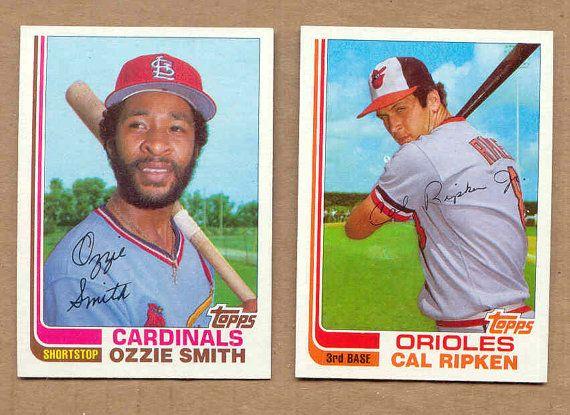 1982 Topps Baseball Card Traded Update Set Cal Ripken Jr