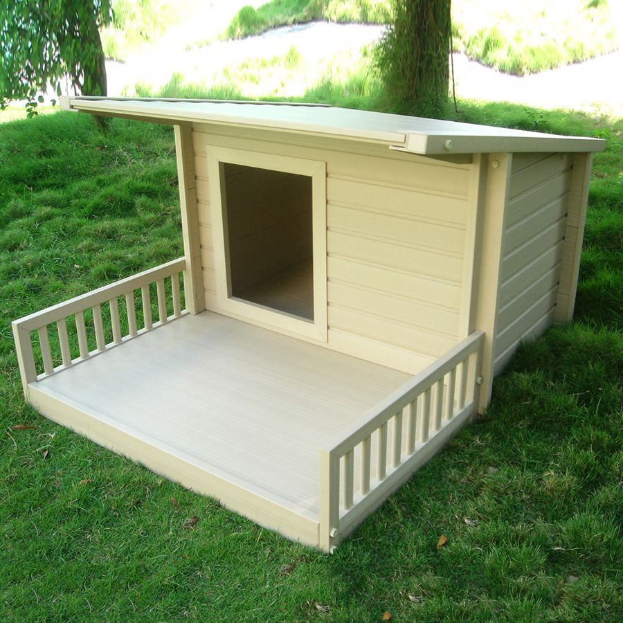 New Age Pet Ecoh204 Ecochoice Santa Fe Chalet Dog House With