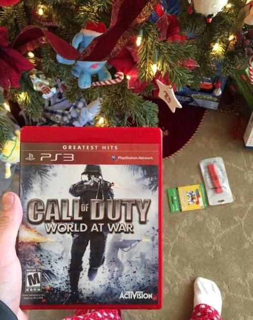 When you ask your parents for Call of Duty WWII for Christmas