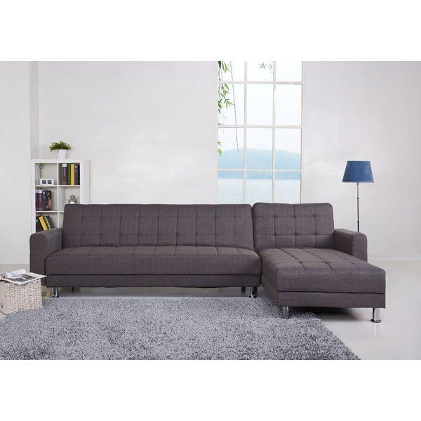 A urban simple design allowing you to convert a corner sofa into
