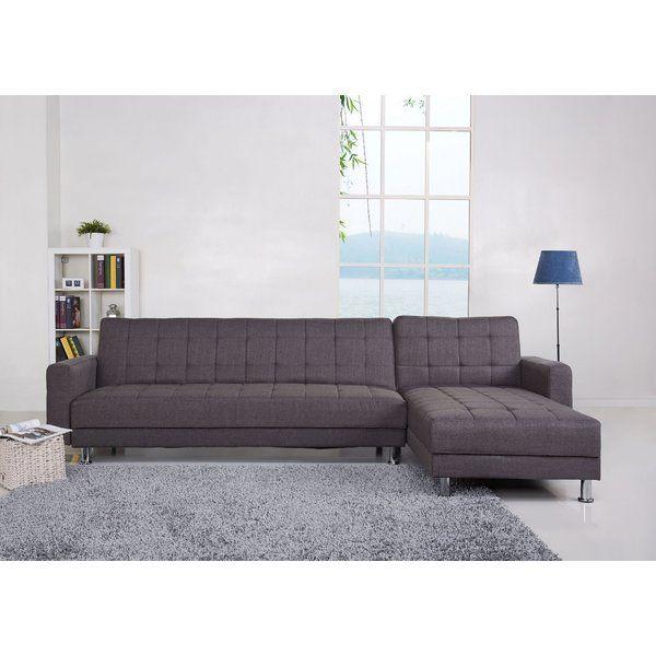 A urban simple design allowing you to convert a corner sofa into
