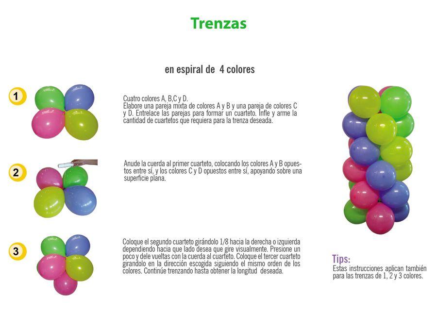 Como hacer un arco de globos paso a paso buscar con - Como hacer decoracion con globos ...